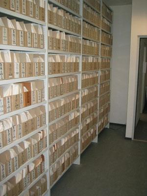 Regal für Kisten (Akten, Ablage, Schachtel)