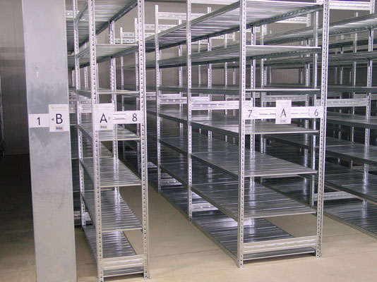 Lagerregale (Archivregal, Kellerregal) Lagerregal - zu kaufen bei lagerconsulting.at