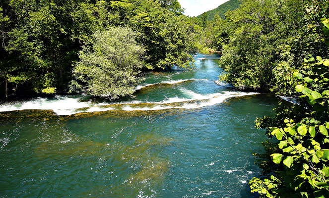 Wasserfälle bei Martin Brod