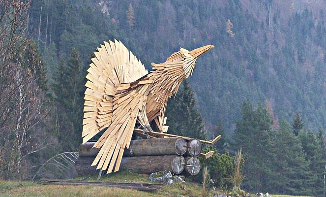 Holzschnitzerei in Slowenien