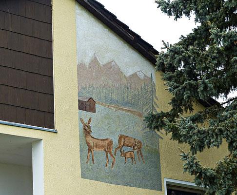 Lüftlmalerei aus Bayern