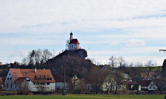 Der Kalvarienberg in Wörnitzstein
