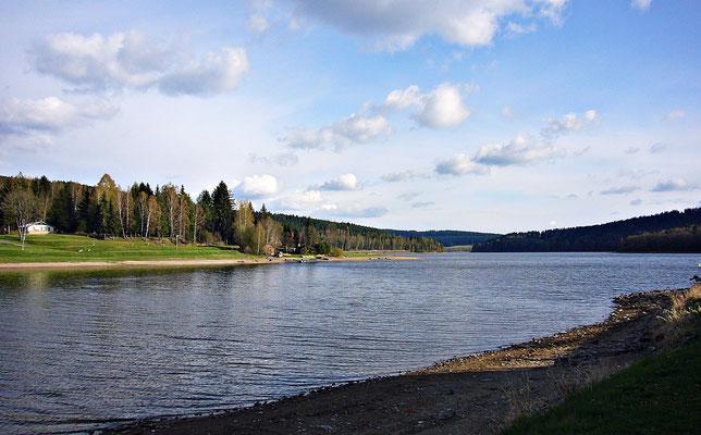 Lipno Stausee bei Frymburk