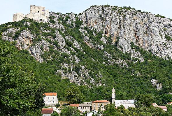 Die Burg von Vrlika