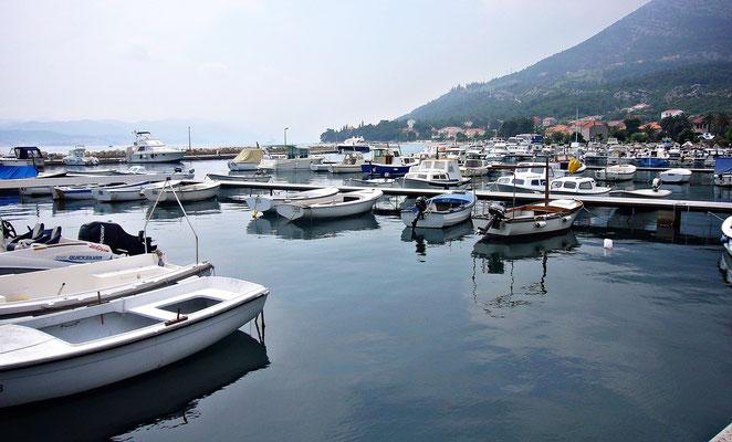 Der Hafen von Orebic