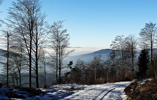 Der Arber im Winter