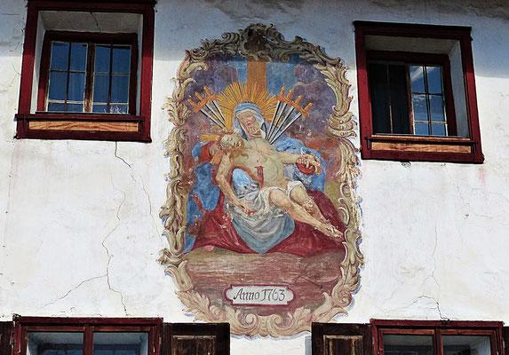 Lüftlmalerei aus Tirol