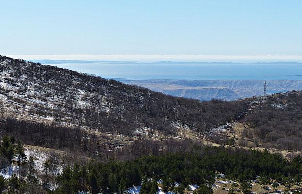 Die Fahrt von Gospic nach Karlobag
