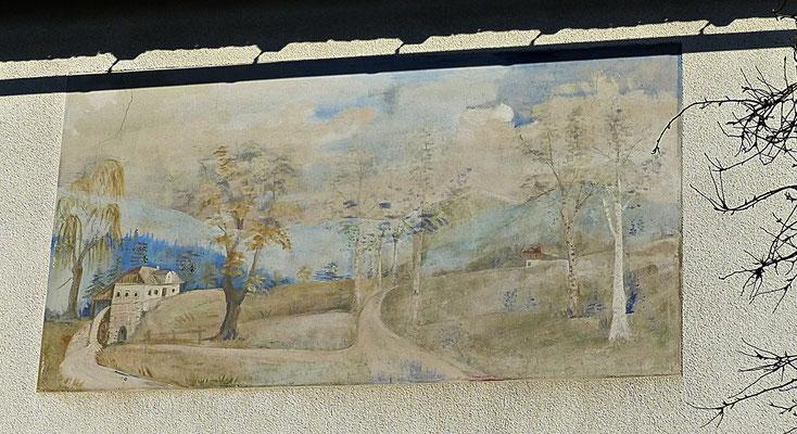 Wandbild in Tschechien