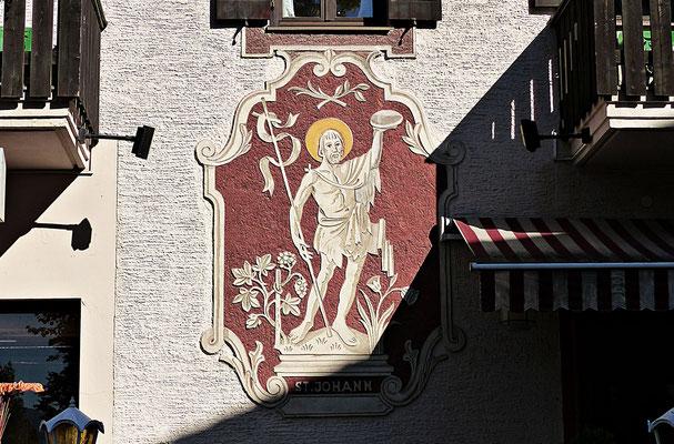 Lüftlmalerei aus Partenkirchen