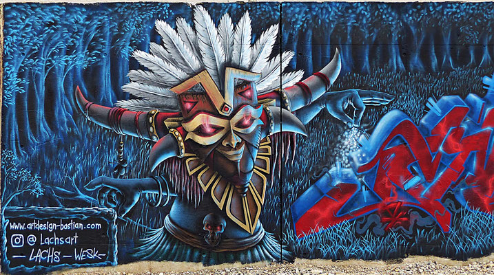 Graffiti aus Königsbrunn