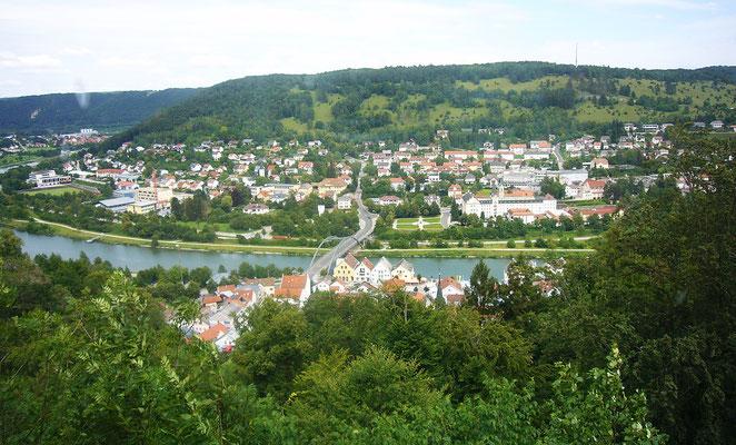 Blick auf Riedenburg