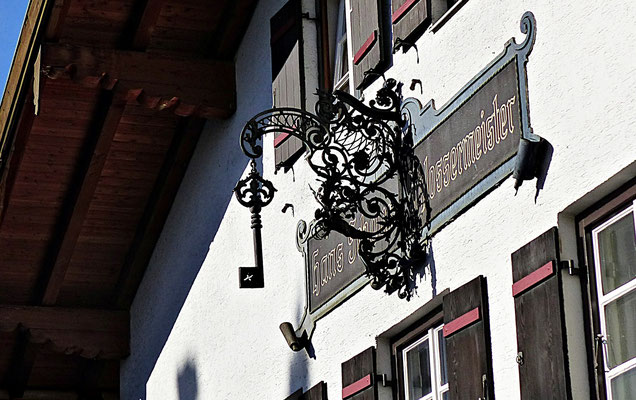 Nasenschild in Miesbach