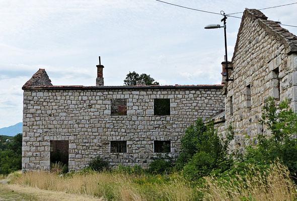 Altes Haus bei der Cetina