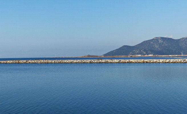 Die Mündung in die Adria