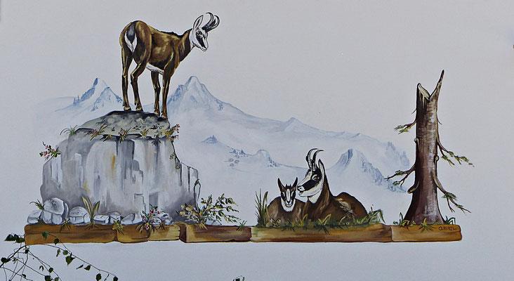 Lüftlmalereien aus Garmisch