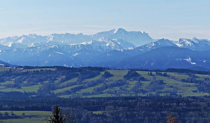 Blick auf die Zugspitze