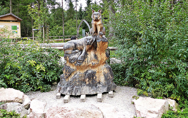 Holzschnitzerei in Füssen