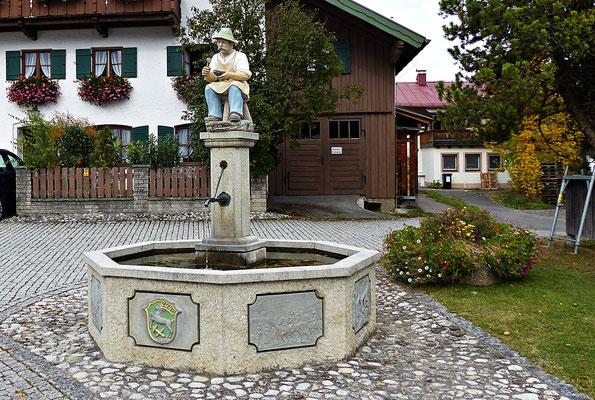 Holzschnitzerei in Unterammergau