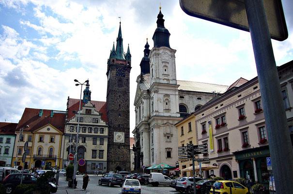 Jesuitenkirche und der schwarze Turm