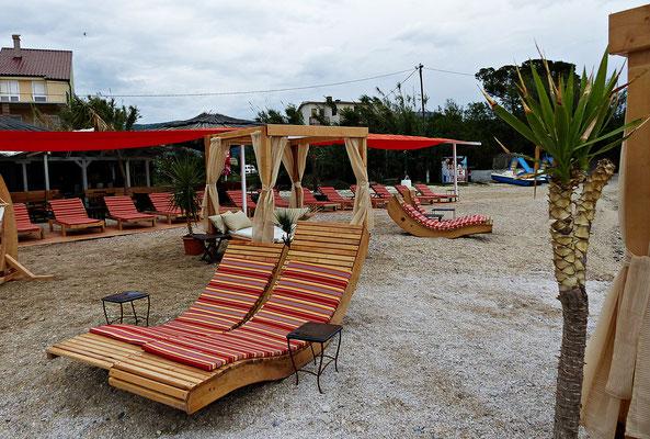 Die neue Beachbar