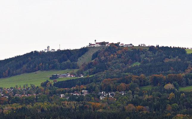 Blick auf den Peißenberg