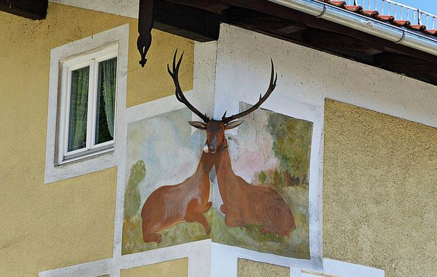3 D Lüftlmalerei in Wolfratshausen