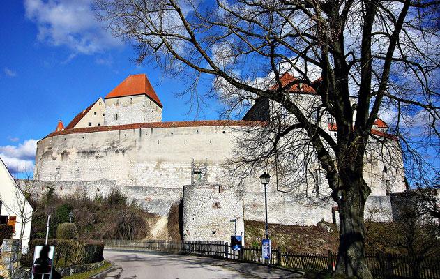 Die Burg von hinten