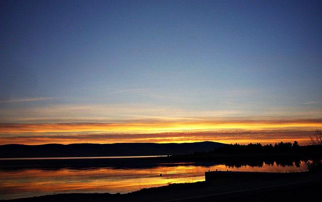 Sonnenuntergang im Kvarner