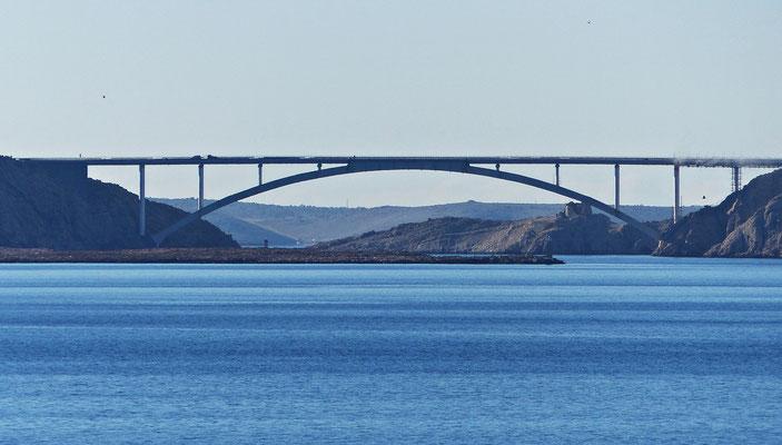 Die Brücke von Pag