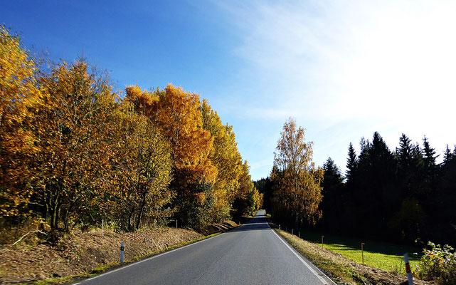 Herbstliches Böhmen