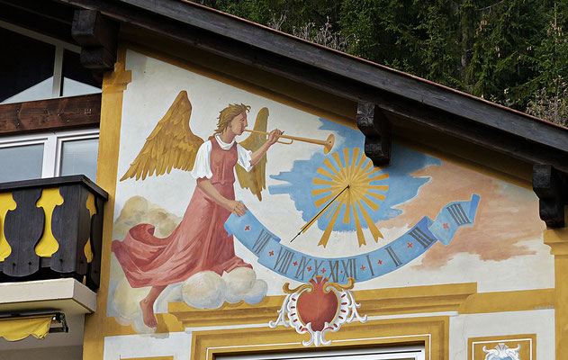 Sonnenuhr in Garmisch