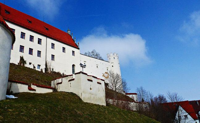Auf dem Schloss