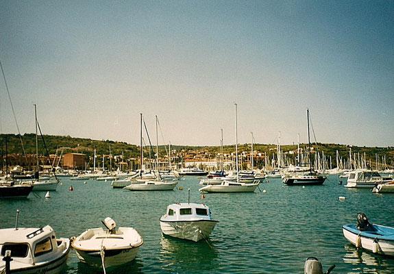 Hafen von Izola