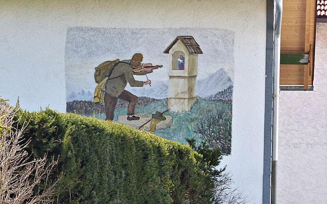Lüftlmalerei in Bernbeuren