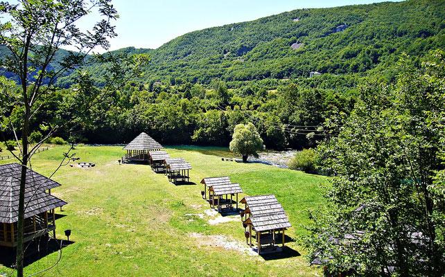 Campingplatz bei Martin Brod