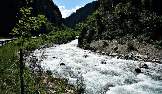 Der Fluss Melach