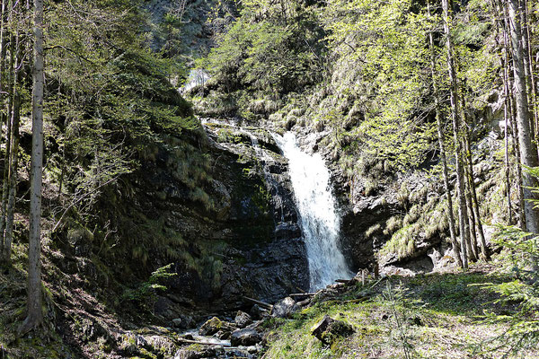 Wasserfall beim schweren Gatter