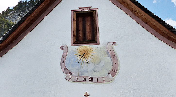 Sonnenuhr in Bayern