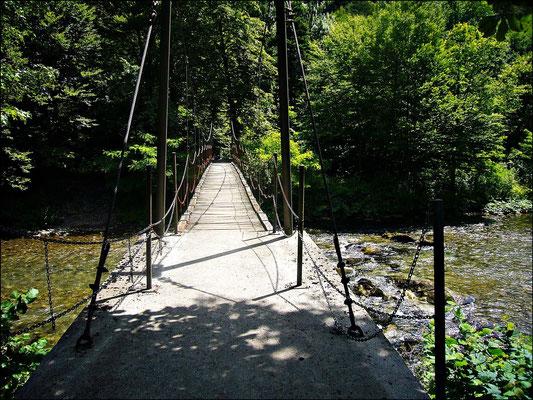 Brücke bei der Grenze
