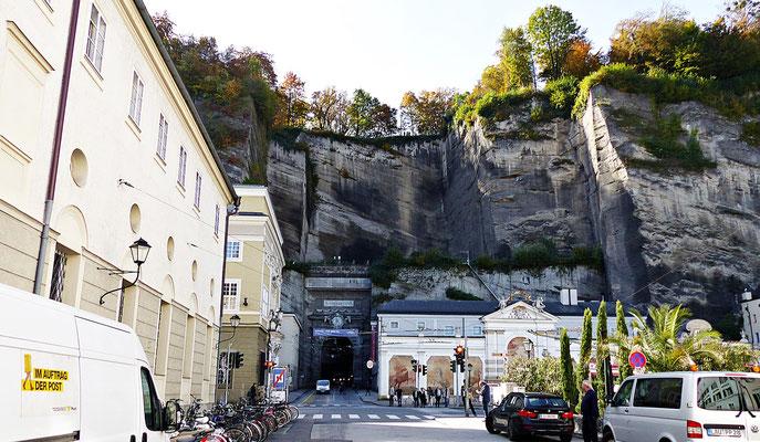Tunnel in der Altstadt