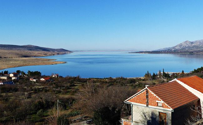 Der Kanal von Starigrad Paklenica