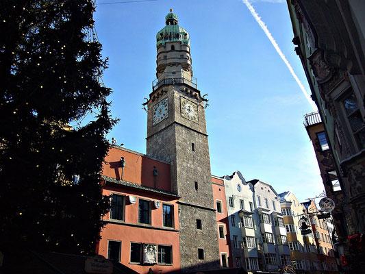 Der Stadtturm in Innsbruck