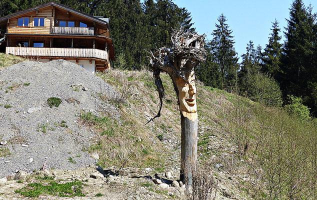 Holzschnitzkunst im Kühtai
