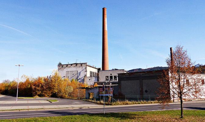 Alte Fabrik in Susice