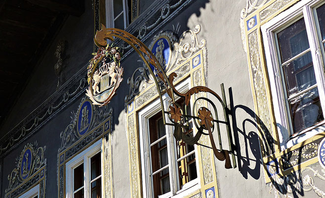 Nasenschild in Garmisch