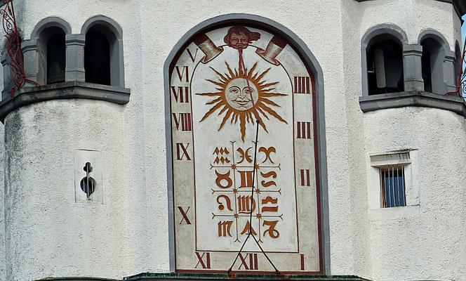 Sonnenuhr in Wangen/Allgäu