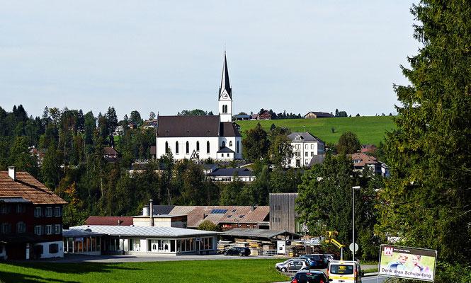 Kirche von Egg im Vorarlberg