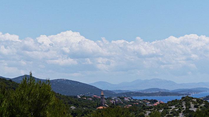 Blick auf Jezera