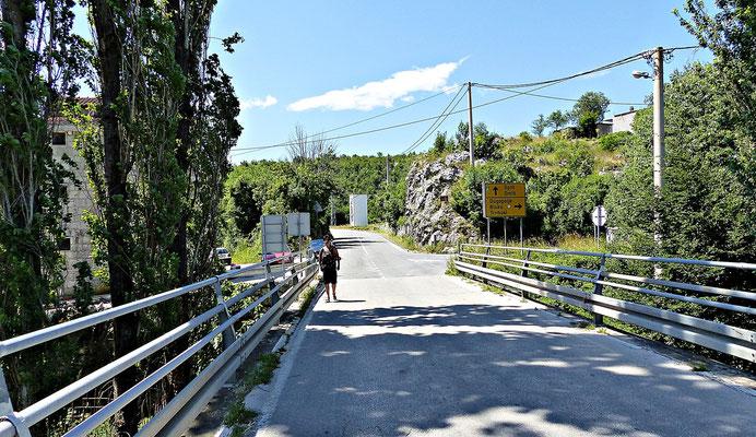 Brücke bei Blato